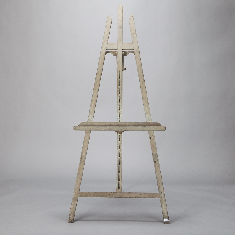 Photo of Tall Gray Painted Easel