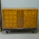 Art Deco Cabinet with Parquetry