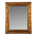 Pair Rectangular Gilt Mirrors