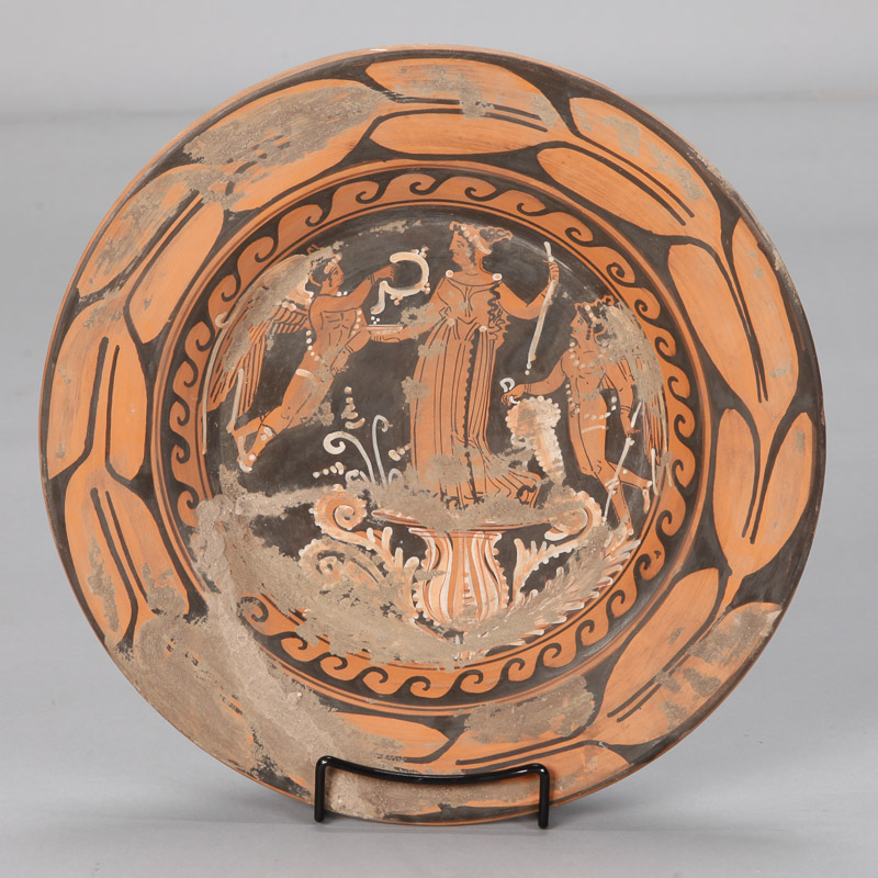 Photo of Late 19th Century Grand Tour Etruscan Style Pottery Charger