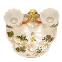 Strawberry Majolica Serving Dish