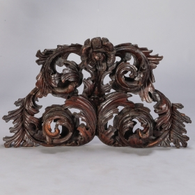Photo of antique Large Portuguese Carved Oak Architectural Element