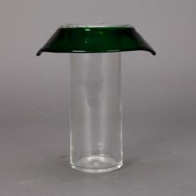 Photo of antique Unusual Collar Vase by Flavio Poli for Seguso Vetri d'Arte