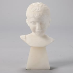 Photo of antique Marble Bust of a Boy