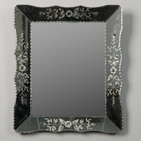 Photo of antique Art Deco Era Venetian Mirror