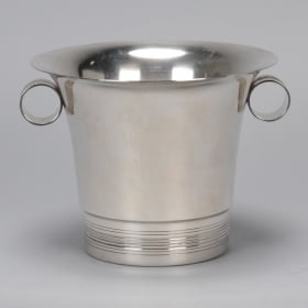 Photo of antique Silver Plate Wine Cooler