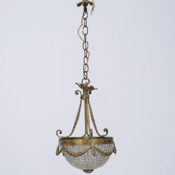 Empire Style Beaded Chandelier 8341 1d 1