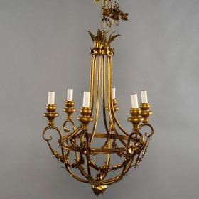 Antique chandeliers judy frankel antiques aloadofball Choice Image