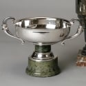 Sterling Art Deco Trophy with Marble Stand