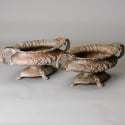 Pair of French Spelter Jardiners