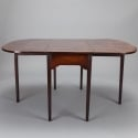 Georgian Circa 1825 Mahogany Drop Leaf Table