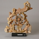 Carved Floral Architectural Fragment on Stand