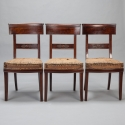 Set of 6 French First Empire Dining Chairs