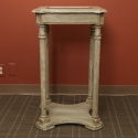 French Painted Side Table or Sculpture Stand