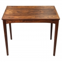 Mid Century Solid Rosewood Side Table