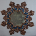 French Gothic Style Star Shape Mirror