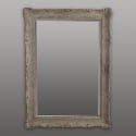 Painted and Carved French Mirror