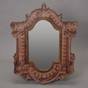 Neoclassical Italian Mirror Painted in Architectural Style