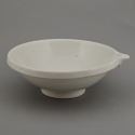 White Pottery Bowl With Spout
