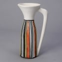 Roger Capron Vallauris Tall Striped Pitcher