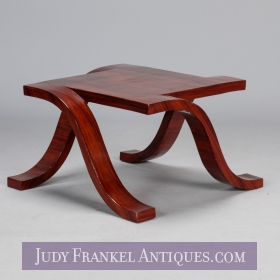 photo of sold item  Art Deco Palisander Spider Table