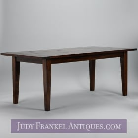 photo of sold item  19th Century Chestnut Farm Table