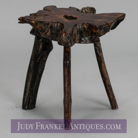 photo of sold item  Chinese Root Side Table